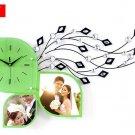 Fashionable Creative Modern Novelty Shape Sitting Room Wall Clock - S141G