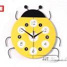 DIY 3D Cartoon Stylish Decorative Wall Clocks - JT2265Y