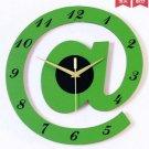 "12""Stylish Alphabet Decorative Wall Clocks - T2820G"