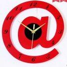"16""Stylish Alphabet Decorative Wall Clocks - T2820R"
