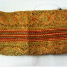 Colorfull Purse Hmong Embriodered Fabric