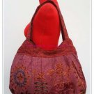 Cotton  Embroidered shoulder Bag