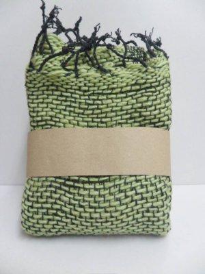 Green  Cotton 100% Scarf