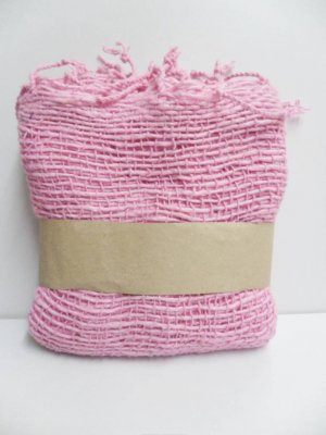 Pink  Cotton 100% Scarf