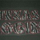 Zebra Texas Aggies Crystal Rhinestone Shirt