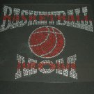 NEW Basketball Mom Crystal Rhinestone Shirt