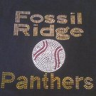 RESERVED LISTING for Fossil Ridge Panthers