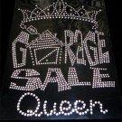 Garage Sale Queen Crystal Rhinestone Shirt