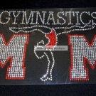 Gymnastics Mom Crystal Rhinestone Shirt