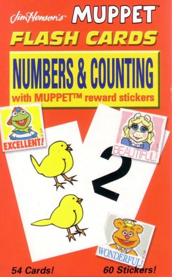 PRESCHOOL - NUMBERS & COUNTING Flash Card Set