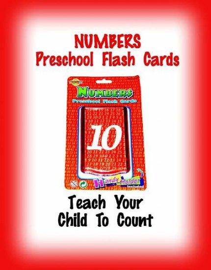 PRESCHOOL - NUMBERS Flash Cards