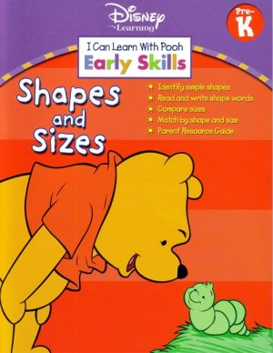 PRESCHOOL Teach your child SHAPES & SIZES with POOH