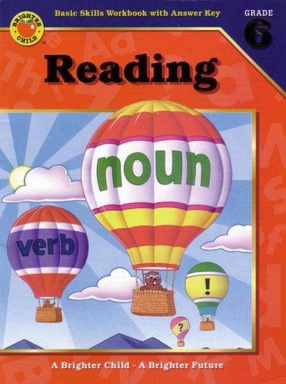 SIXTH GRADE - READING COMPREHENSION Workbook