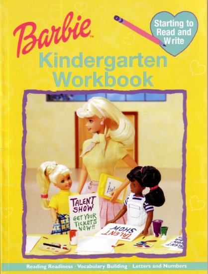 KINDERGARTEN - Teach your Child HOW TO READ AND WRITE with BARBIE