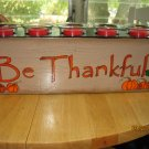 Thanksgiving & Christmas Sugar Mold Candle Holder