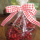 8 Hand Dipped Pine Cone Fire Starers Apple & Cinnamon Scented t