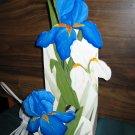 Handcrafted & Hand Painted Iris Night Light