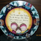 Handcrafted Plate- Twas The Night Before Christmas....