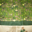 Set of 2 Tee Time Flannel Standard Pillow Cases-Handmade
