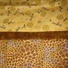 Set of 2 August Flannel Standard Pillow Cases - Handmade