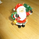 Hand Painted Santa Resin Christmas Ornament