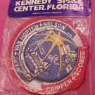 JFK Heat Seal Iron On Patch New  Kennedy Space Center, Florida
