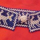 Indian Eskimo Beaded Raindeer Bracelet