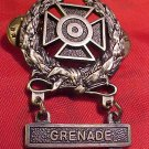 US Expert Marksman Medal and Grenade Bar