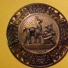 Peru LLama Brooch 925 VTG  Sterling artist PMD