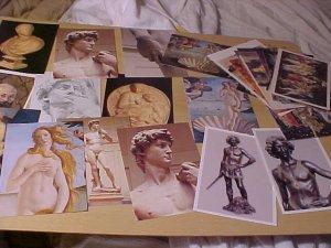Lot of 27 Classic Art Postcards