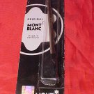 Montblanc Rollerball Pen Refill Blk Fine