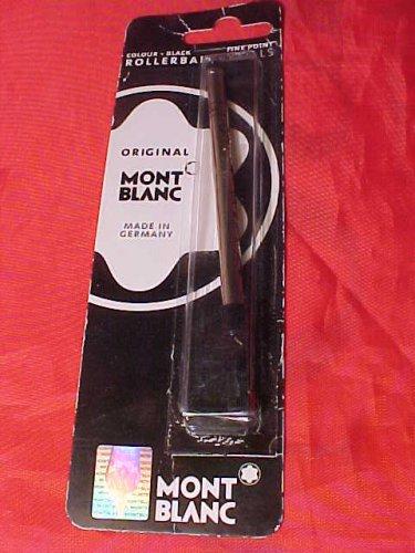 Montblanc Rollerball Pen Refill Blk Fine