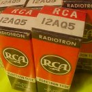 12AQ5 Tubes NOS 5x New in Box RCA Matched set Strong