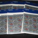 Motorcycle US Stamps Lot of 120 Mint 39 Sealed 6 sets $7.80