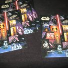 Star Wars US Stamps Lot of 5 sets .41  15 per pane Mint 75 stamps