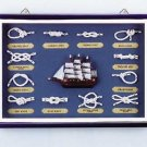 Wood Nautical Shadow Box #31231