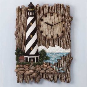 Alabastrite Lighthouse Wall Clock #31415