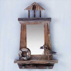 Lighthouse Keyholder and Mirror #31591