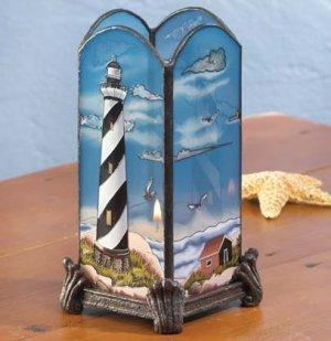 Lighthouse Votive Holder #34776