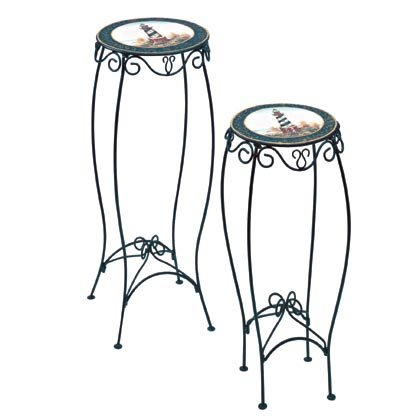 Lighthouse Tables or Plant Stands #35260