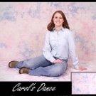 """CAROLS DANCE"" PREMIUM MUSLIN BACKDROP BACKGROUND 10X20"
