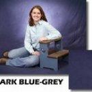 Dark Blue/Gray Muslin Backdrop