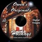 Holiday Scenics Digital Backdrops Chromakey Photography Backgrounds