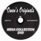 Mega Collection Digital Backdrops DVD-Our Entire Digital Backdrop Collection On One Disc.
