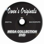 Mega Collection Digital Backdrops DVD-Our Entire Digital Backdrop Collection On One Disc.