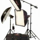 Photogenic Powerlight Solair 4 Light (120V) PL450K 1640 w/s Solair Constant Color Light Kit