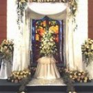 CPW016 Computer Painted Wedding Background