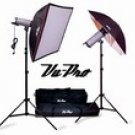V-600 1200W/S Umbrella/Softbox Kit