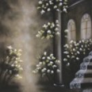 12-104 Special 10x20 Hand Painted Scenic Muslin Backdrop