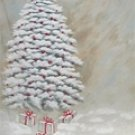 26XM Special 8x10 Hand Painted Scenic Muslin Backdrop